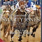 Smarty Jones, 2004 Kentucky Derby Sports Illustrated Cover Poster