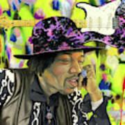 Sonic Exploration - A Jimi Hendrix Portrait Poster