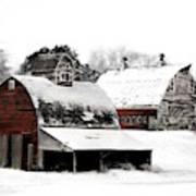 South Dakota Farm Poster