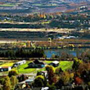 South Wenatchee Fall Poster