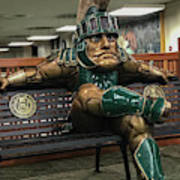 Sparty At Rest Poster