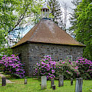 Spring At The Crispell Memorial French Church Poster