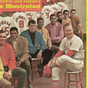 St. Louis Cardinals, 1968 World Series Champions Sports Illustrated Cover Poster