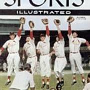 St. Louis Cardinals Sports Illustrated Cover Poster