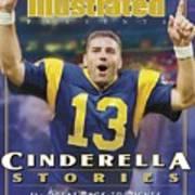 St. Louis Rams Qb Kurt Warner... Sports Illustrated Cover Poster
