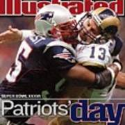 St. Louis Rams Qb Kurt Warner, Super Bowl Xxxvi Sports Illustrated Cover Poster
