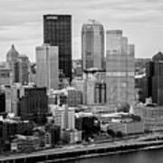 Steel City Skyline Poster