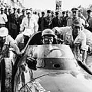 Stirling Moss In A Vanwall, Italian Poster