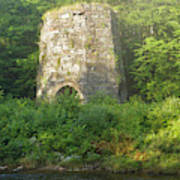 Stone Iron Furnace - Franconia New Hampshire Poster