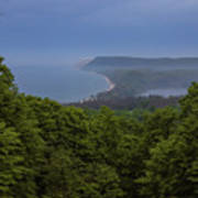 Stormy Day On Sleeping Bear Dunes Poster