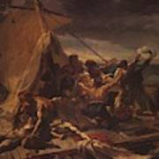 Study For The Raft Of The Medusa Poster