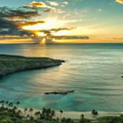Sunrise Over Hanauma Bay On Oahu Hawaii Poster