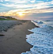 Sunset At Cape Cod National Seashore - Massachusetts Poster