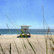 Tamarack Beach Poster