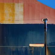 Tanker In Dry Dock Poster