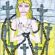 Tarot Of The Younger Self Eight Of Swords Poster