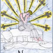 Tarot Of The Younger Self Nine Of Swords Poster