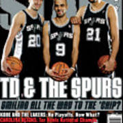 TD & The Spurs: Smiling All the Way to the 'Chip? SLAM Cover Poster