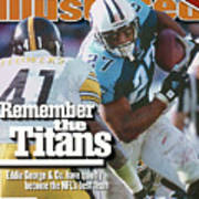 Tennesse Titans Eddie George... Sports Illustrated Cover Poster