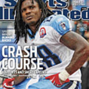 Tennessee Titans Chris Johnson... Sports Illustrated Cover Poster