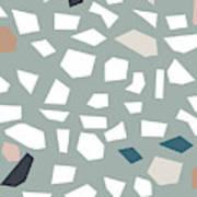 Terrazzo 1- Art By Linda Woods Poster