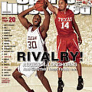 Texas A&m Joseph Jones And University Of Texas D.j Sports Illustrated Cover Poster