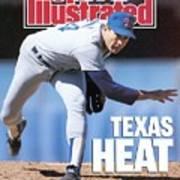 Texas Rangers Nolan Ryan... Sports Illustrated Cover Poster