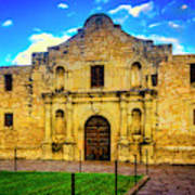 The Alamo Mission Poster