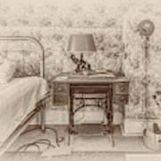 The Antique Sewing Machine Poster