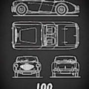 The Austin-healey 100 Poster