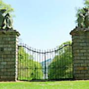 The Bear Gates At Traquair Poster