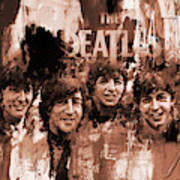 The Beatles Art  Poster