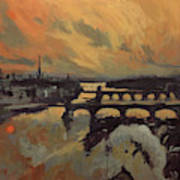 The Bridges Of Maastricht Poster