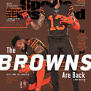 The Browns Are Back 2019 Nfl Season Preview Sports Illustrated Cover Poster