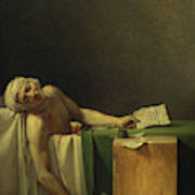 The Death Of Marat, 1793 Poster