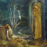 The Dream Of Lancelot Study Poster