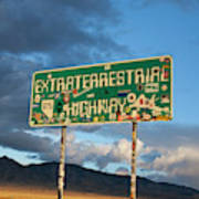 The Extraterrestrial Highway Poster