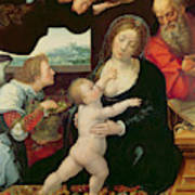 The Holy Family, 1522 Poster