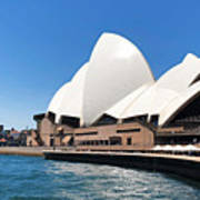 The Iconic Sydney Opera House.  Poster
