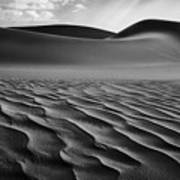 The Living Dunes, Namibia I Poster