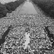 The March On Washington At The Lincoln Poster