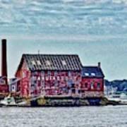 The Paint Factory, Gloucester, Massachusetts Poster
