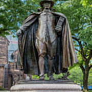 The Puritan Statue Poster
