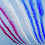 The Red Arrows. Poster