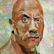 The Rock From California Poster