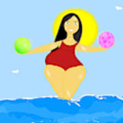 The Venus Of Equilibrium Poster