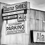 These Shoes Alamo Shoes Poster