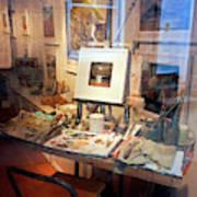 Through An Artists Window Poster