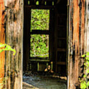 Through The Old Blacksmith Shop Poster