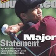 Tiger Woods, 1999 Pga Championship Sports Illustrated Cover Poster